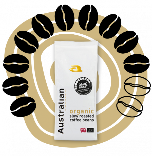 australiankoffie.nl | Dark Roast Beans | Voor de koffiebeleving die bij jou past